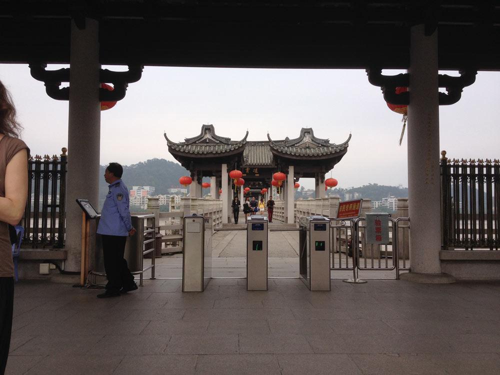 Neúplný most v Chaozhou