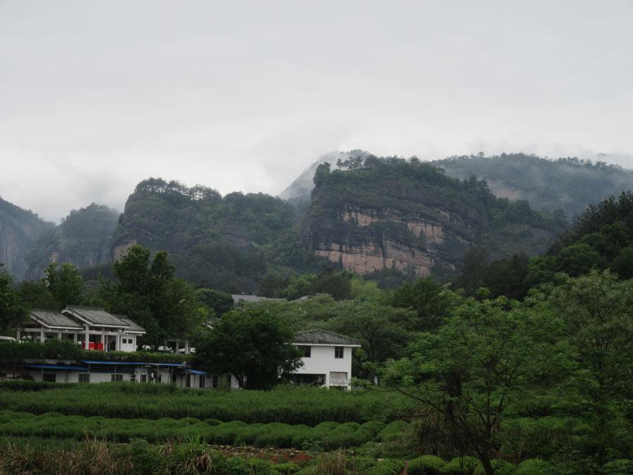 Wuyi pohoří ve Futienu