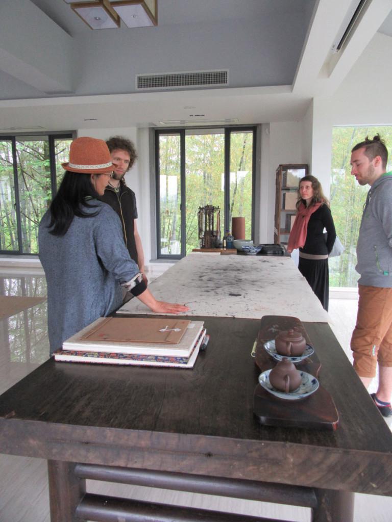 Výzkumné čajové centrum ve Wuiyshanu