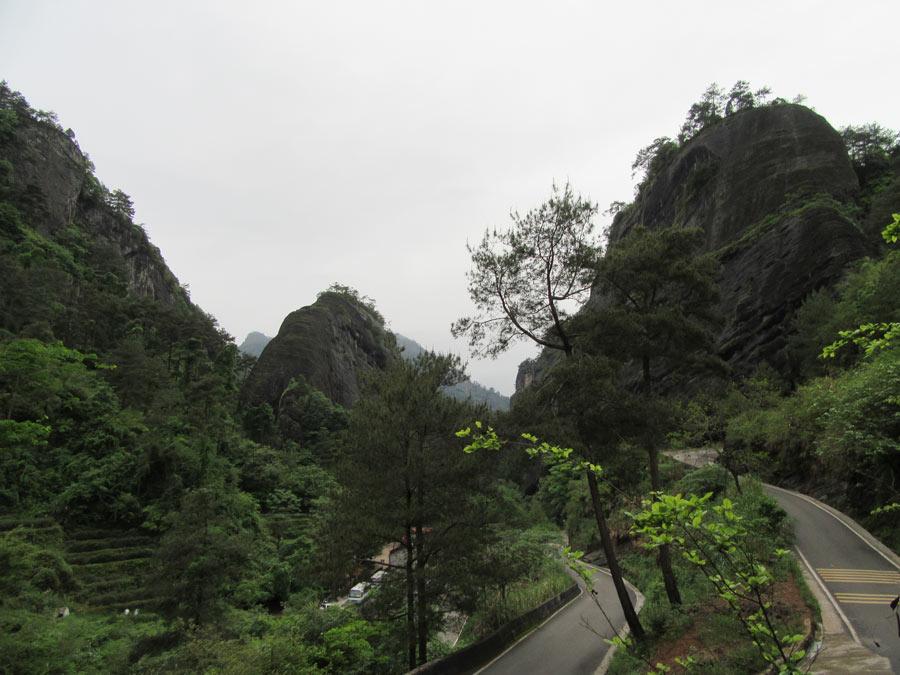 Wuyi v celé kráse - hory 5 slonů